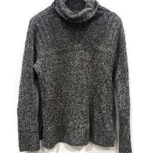 | Eddie Bauer | chunky knit turtleneck sweater